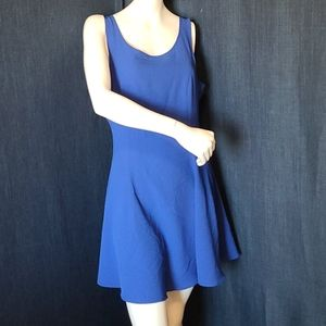 H&M Divided Sleeveless DRESS Royal Blue Size 12